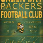 """Green Bay Packers Banner"" by Lemonjello"