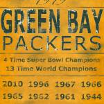 """Green Bay Packers Yellow Banner"" by Lemonjello"