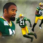 """Charles Woodson Painting"" by Lemonjello"