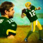 """Aaron Rodgers"" by Lemonjello"
