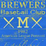 """Milwaukee Brewers"" by Lemonjello"