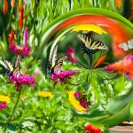"""""""Bubbles in the Garden"""" by tricia"""