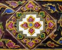 Ornate Vintage Tile Work