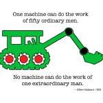 """Machine & Extraordinary Man"" by DelightfulTrifles"