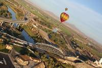 Balloons over the Colorado
