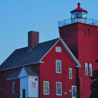 Two Harbors Lighthouse by Lisa Rich
