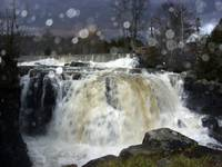 Wadhams Falls at flood stage