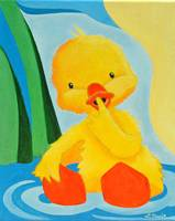 Duck Yellow Sitting Duck