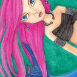 """""""Pink Mermaid"""" by LilliBeanDesigns"""