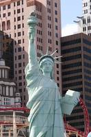 The Statue of Liberty in Las Vegas Nevada