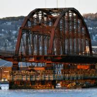 St. Louis Bay Bridge by Lisa Rich