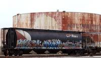 Railroad car art