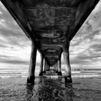 Under the pier 2 Art Prints & Posters by Eduardo Suastegui