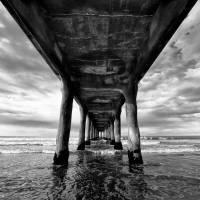 Under the pier 2 Art Prints & Posters by Eduardo Suastegui