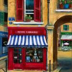 """Little French Book Store"" by marilyndunlap"