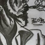"""Bob Marley (sketch)"" by sarahlayzell"