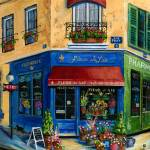 """French Flower Shop"" by marilyndunlap"