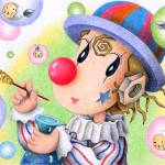 """Romantic pierrot - Wonderful bubble"" by t-koni"
