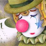 """Romantic pierrot - Sad separation"" by t-koni"