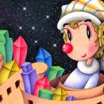 """Romantic pierrot - City of blocks"" by t-koni"