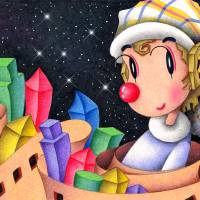 Romantic pierrot - City of blocks Art Prints & Posters by T KONI