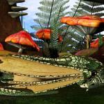 """Sleepy Dragon Fantasy Forest"" by ReneeLozenGraphics"
