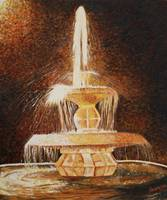 Fountain of light - 20 x 24