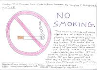 No Smoking notice picture