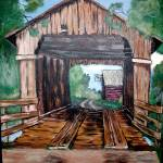 """sues covered bridge"" by debbsmith"