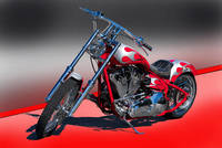 Red Custom Bike