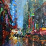 """New York City 42nd Street Cityscape"" by SvetlanaNovikova"