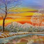 """""""First Snow"""" by NewArtLine"""