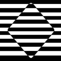 Blackjack Diamond Optical Illusion