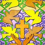 """""""Faith Hope Charity"""" by bluejawa"""