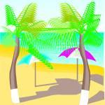 """Beach Scene"" by Jinger"