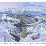 """SummitCountyColorado"" by jamesniehuesmaps"