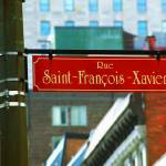 """Montreal - Rue Saint Francois Xavier"" by Ffooter"