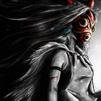 Princess Mononoke Digital Painting Portrait Art Prints & Posters by Barrett Biggers