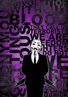 Anonymous revolution without blood ? Purple