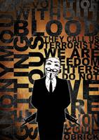 Anonymous revolution without blood ? Gold