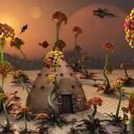 """An alien landscape where the plants are enormous"" by stocktrekimages"