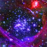 """""""The Arches star cluster inside Milky Way Galaxy."""" by stocktrekimages"""