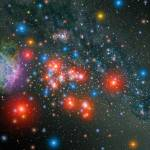 """Red Super Giant Cluster with Supernova Remnant."" by stocktrekimages"