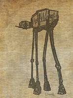 At-At On Parchment