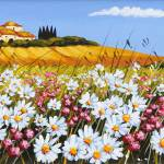 """Daisies in Tuscany"" by GiuseppePino"