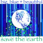 """Big Blue Beautiful Earth!"" by aradovan"