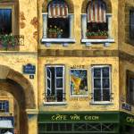 """Cafe Van Gogh Paris"" by marilyndunlap"