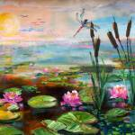 """Sunrise in the Wetlands by Ginette"" by GinetteCallaway"