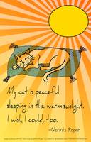 cat nap haiku