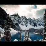 """The Other Moraine Lake (Bordered)"" by UponInfinity"